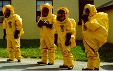 dressed Fighting Radiation Poisoning From Fukushima