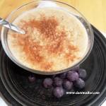 paleo quinoa pudding