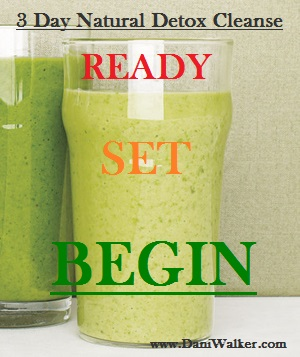 3 Day Natural Detox Cleanse For The New You