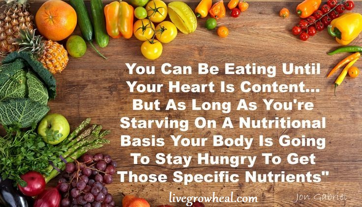 how to not be hungry
